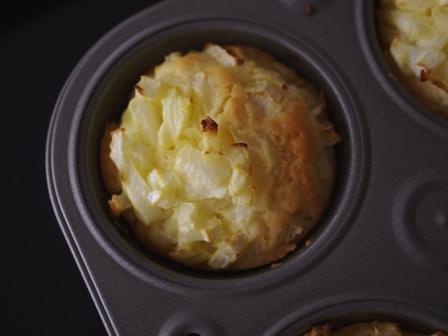 新玉ねぎでつくる温かい軽食マフィン03