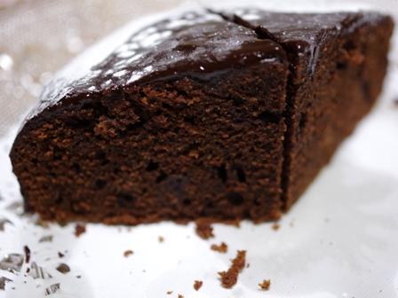 泡立て不要の超簡単チョコレートガナッシュのホールケーキ07