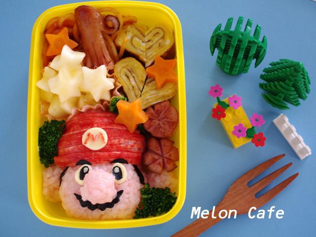 マリオのキャラ弁当スーパーマリオ