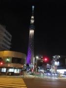 夜の東京スカイツリー