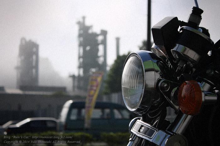 秩父セメントとバイク_GN125H_アップ