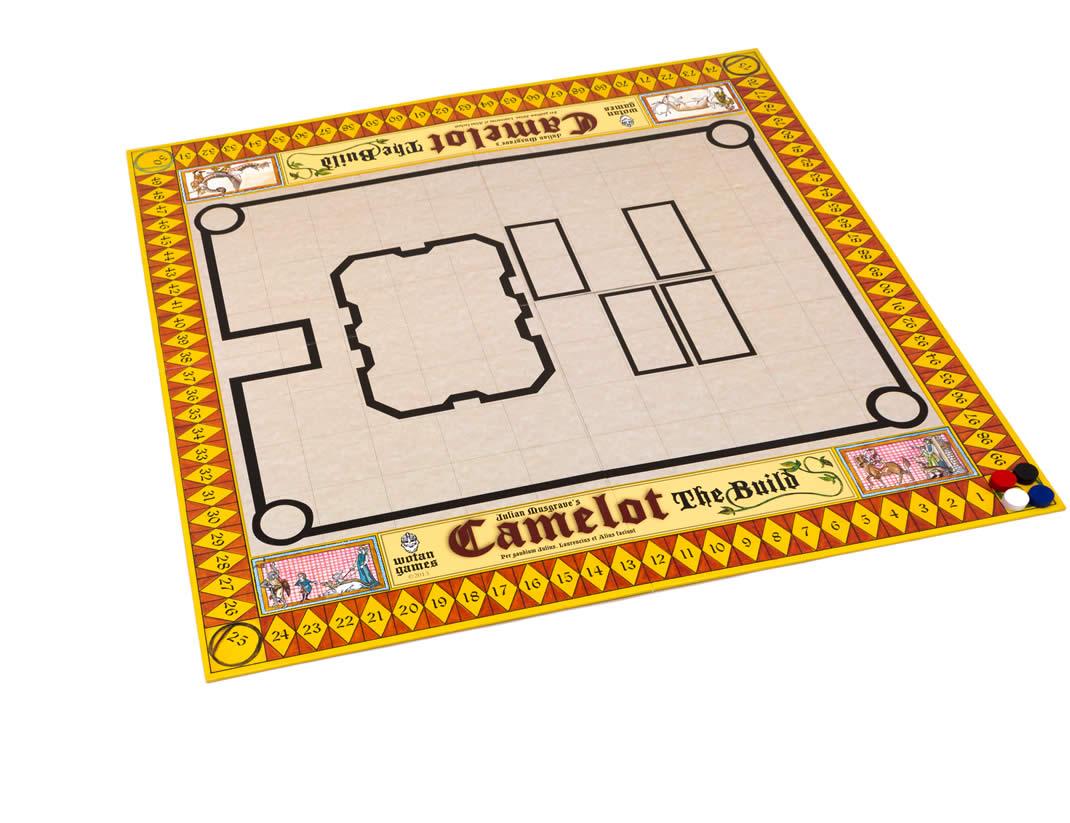 キャメロット城建築:初期状態