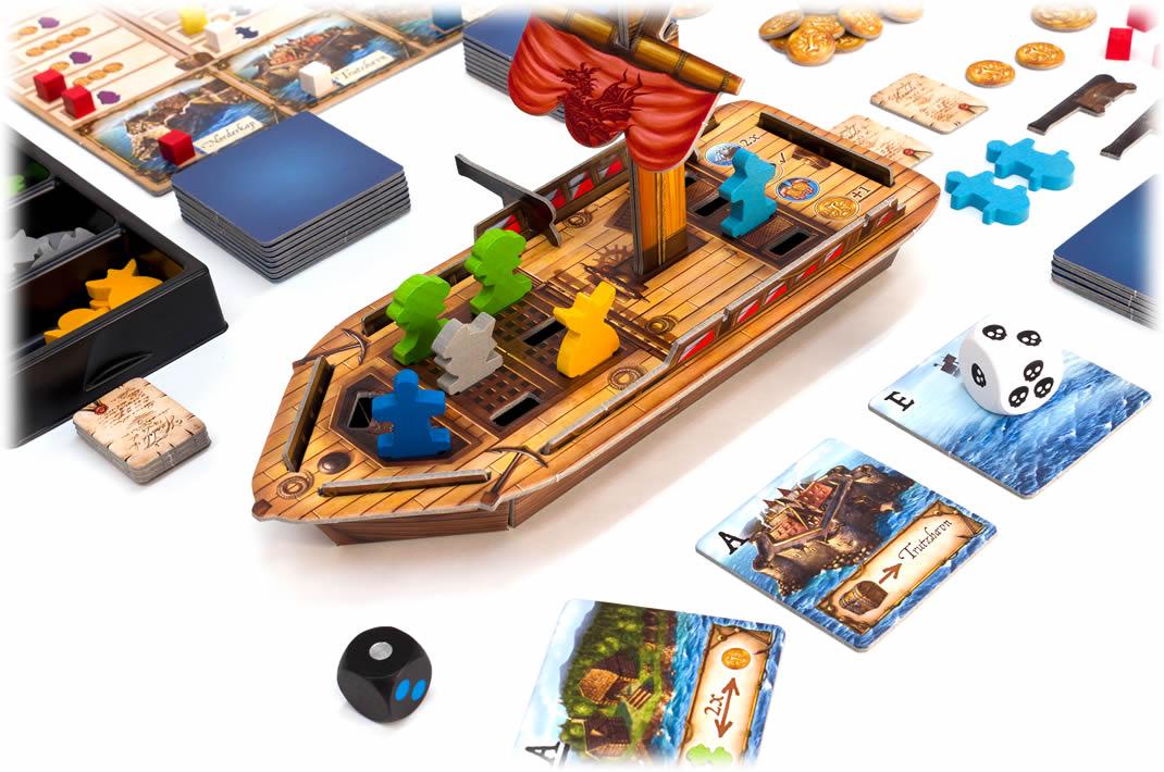 ノルダーヴィント:豪華な立体帆船
