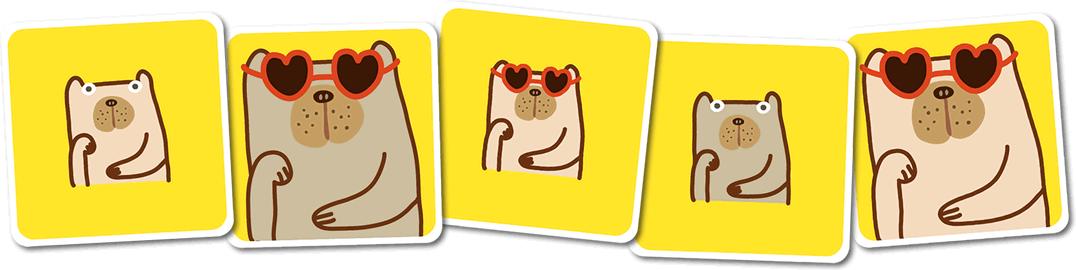 ピック・ア・ドッグ:カードサンプル