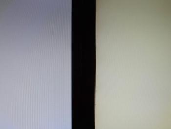 新旧PCモニターの明るさを比べてみました