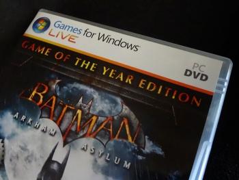 PC版アーカム・アサイラム GOTYエディションを購入しました