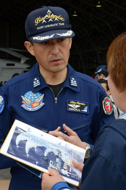 第4航空団飛行群司令 岩岡さん