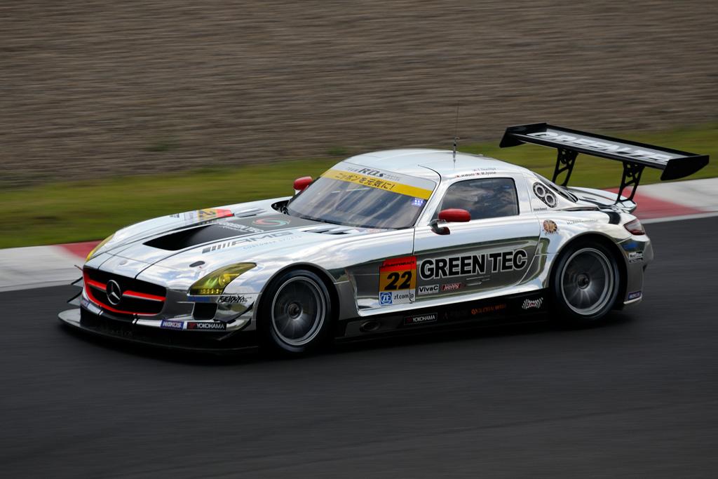 グリーンテック SLS AMG GT3