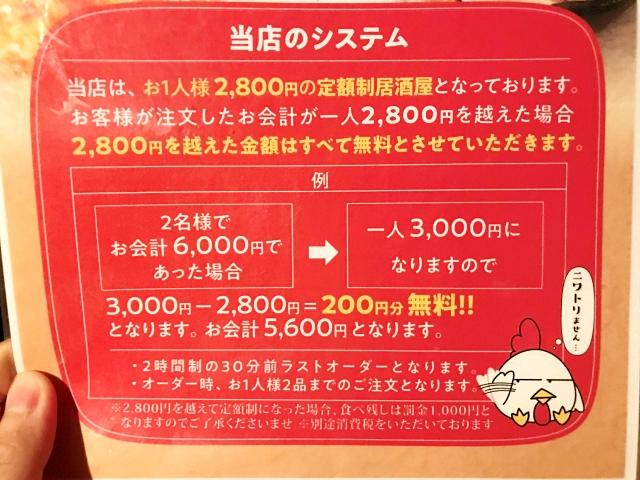 居酒屋「当店はどんなに注文しても絶対に2800円以上掛かりません!」→ 行った結果wwww