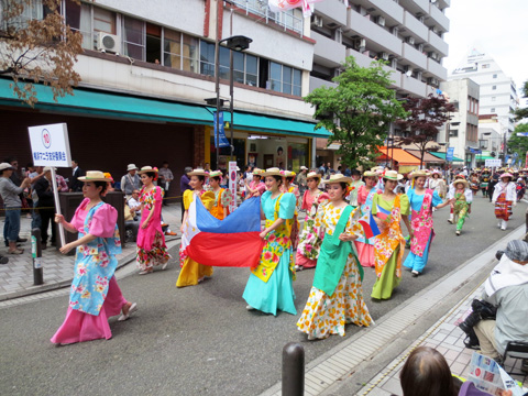 第62回ザよこはまパレード(国際仮装行列)